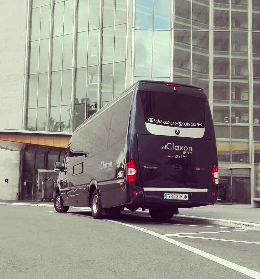 Microbús de alquiler en barcelona