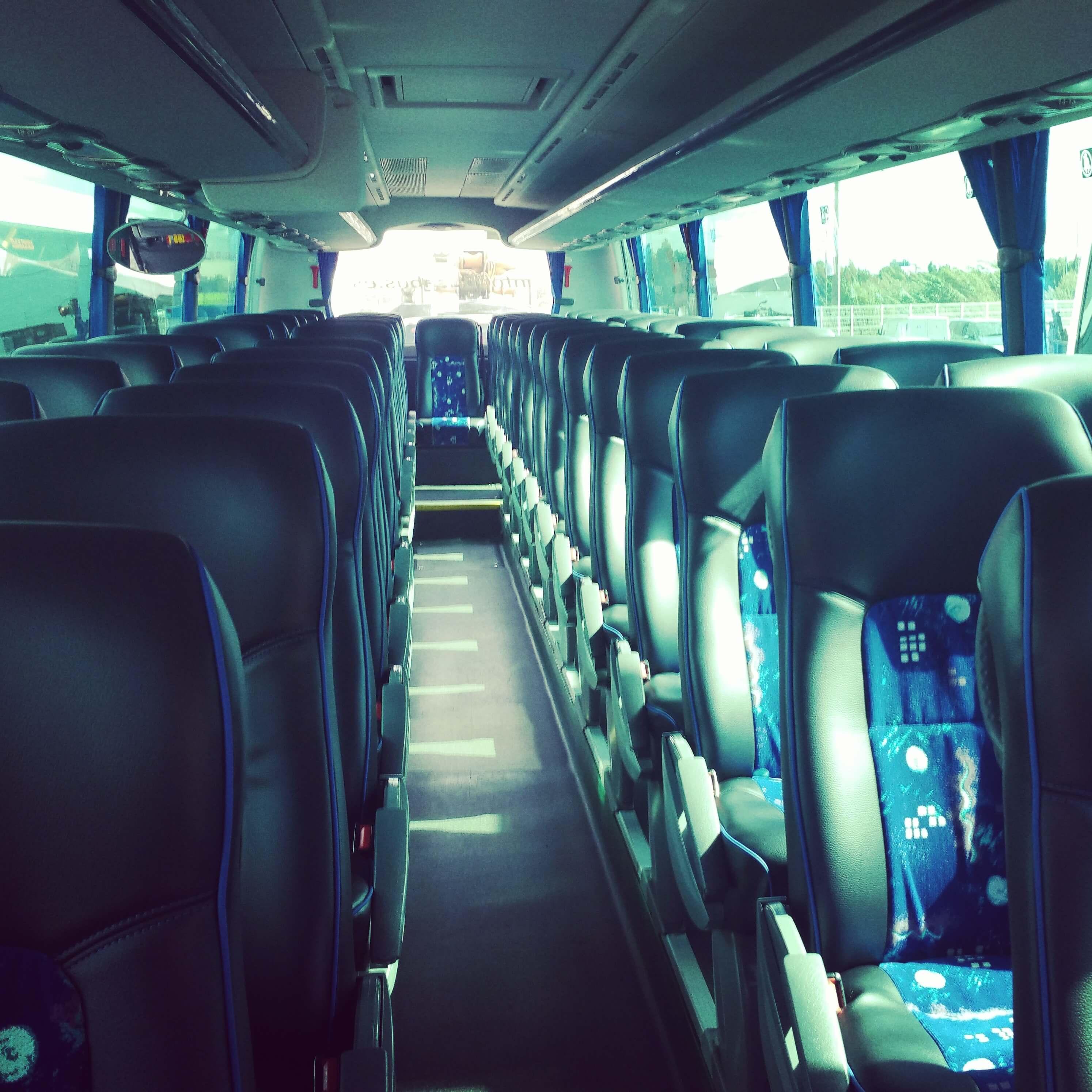elClaxon autocar century irizar exterior transfer barcelona