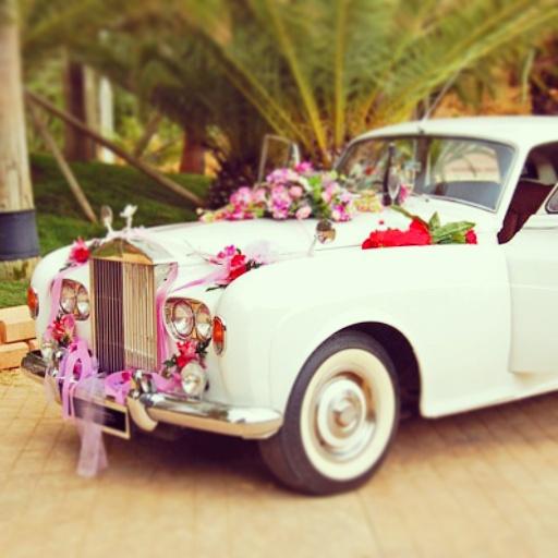 elClaxon Silver Cloud Blanco alquiler coche clásico Barcelona