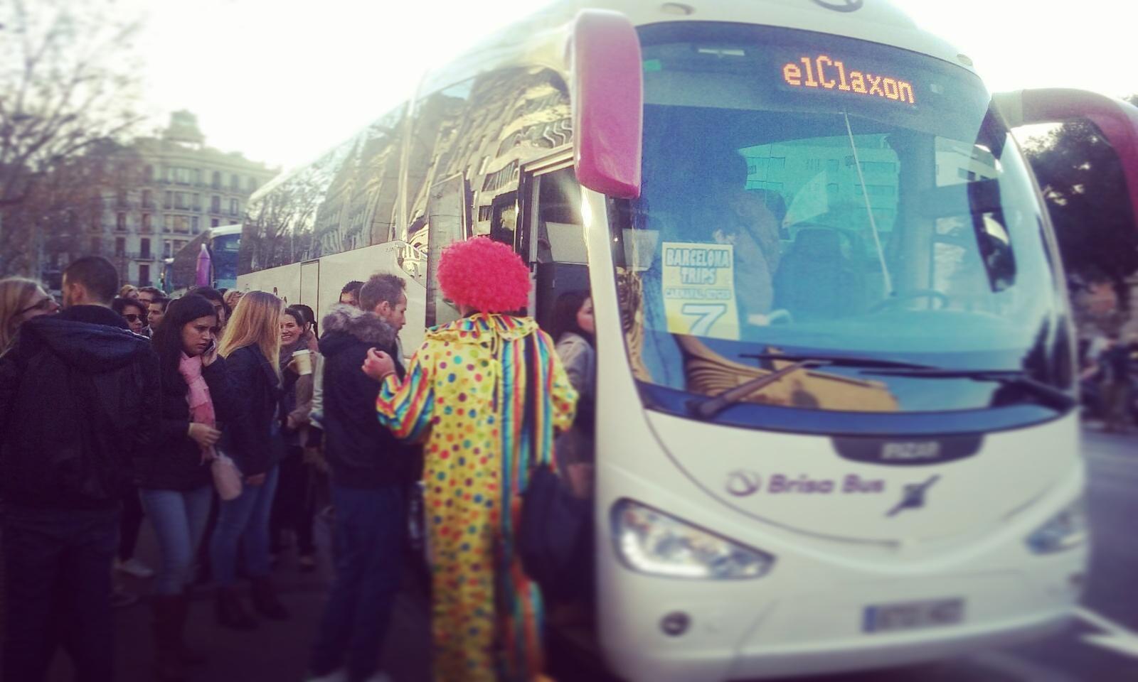 Autocares elClaxon Carnaval Sitges 2016